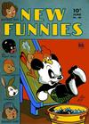 Cover for New Funnies (Dell, 1942 series) #100