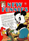 Cover for New Funnies (Dell, 1942 series) #101
