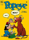 Cover for Popeye (Dell, 1948 series) #15