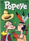 Cover for Popeye (Dell, 1948 series) #20