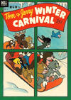 Cover for Tom & Jerry Winter Carnival (Dell, 1952 series) #1