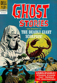 Cover Thumbnail for Ghost Stories (Dell, 1962 series) #12