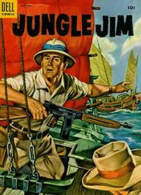 Cover Thumbnail for Jungle Jim (Dell, 1954 series) #4