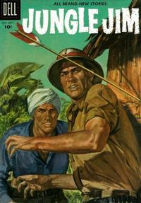 Cover Thumbnail for Jungle Jim (Dell, 1954 series) #9