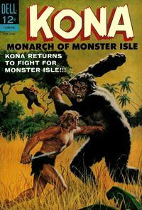Cover Thumbnail for Kona (Dell, 1962 series) #10