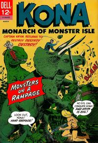 Cover Thumbnail for Kona (Dell, 1962 series) #17