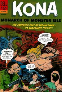 Cover Thumbnail for Kona (Dell, 1962 series) #19