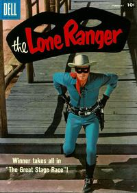 Cover Thumbnail for The Lone Ranger (Dell, 1948 series) #116