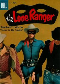 Cover Thumbnail for The Lone Ranger (Dell, 1948 series) #121