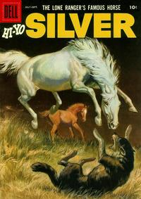 Cover Thumbnail for The Lone Ranger's Famous Horse Hi-Yo Silver (Dell, 1952 series) #19
