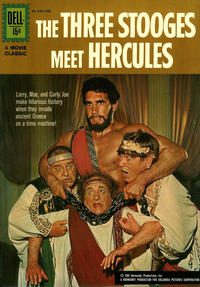 Cover Thumbnail for The Three Stooges Meet Hercules (Dell, 1962 series) #828