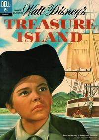 Cover Thumbnail for Walt Disney's Treasure Island (Dell, 1962 series) #01-845-211