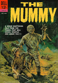 Cover Thumbnail for The Mummy (Dell, 1962 series) #537