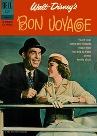 Cover Thumbnail for Walt Disney's Bon Voyage (Dell, 1962 series) #01-068-212