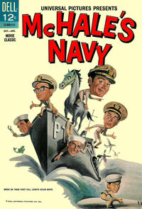 Cover for McHale's Navy (Dell, 1964 series) #500