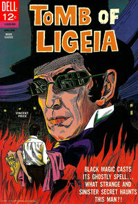 Cover Thumbnail for Tomb of Ligeia (Dell, 1965 series) #830