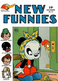 Cover Thumbnail for New Funnies (Dell, 1942 series) #93