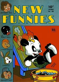 Cover Thumbnail for New Funnies (Dell, 1942 series) #100