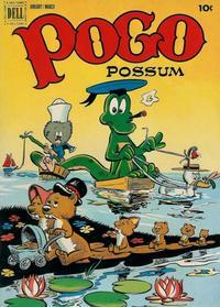 Cover Thumbnail for Pogo Possum (Dell, 1949 series) #8