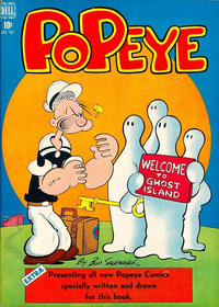 Cover Thumbnail for Popeye (Dell, 1948 series) #3