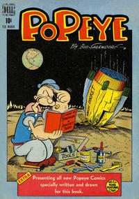 Cover Thumbnail for Popeye (Dell, 1948 series) #5