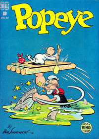 Cover Thumbnail for Popeye (Dell, 1948 series) #6