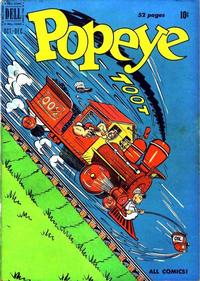 Cover Thumbnail for Popeye (Dell, 1948 series) #14