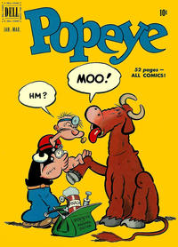 Cover Thumbnail for Popeye (Dell, 1948 series) #15