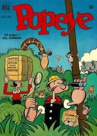 Cover Thumbnail for Popeye (Dell, 1948 series) #16