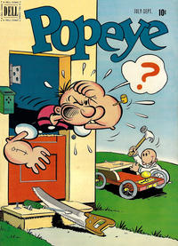 Cover Thumbnail for Popeye (Dell, 1948 series) #17