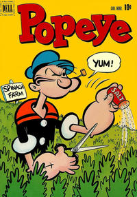 Cover Thumbnail for Popeye (Dell, 1948 series) #19