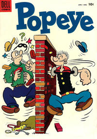 Cover Thumbnail for Popeye (Dell, 1948 series) #32
