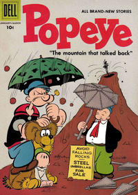 Cover Thumbnail for Popeye (Dell, 1948 series) #39