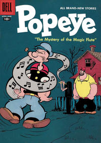Cover Thumbnail for Popeye (Dell, 1948 series) #40