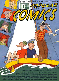 Cover Thumbnail for Popular Comics (Dell, 1936 series) #8