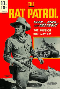 Cover Thumbnail for The Rat Patrol (Dell, 1969 series) #6