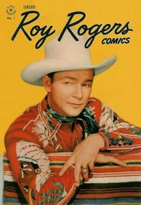 Cover Thumbnail for Roy Rogers Comics (Dell, 1948 series) #1