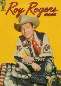 Cover Thumbnail for Roy Rogers Comics (Dell, 1948 series) #3