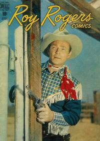 Cover Thumbnail for Roy Rogers Comics (Dell, 1948 series) #4