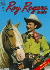 Cover Thumbnail for Roy Rogers Comics (Dell, 1948 series) #27