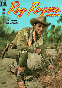 Cover Thumbnail for Roy Rogers Comics (Dell, 1948 series) #28