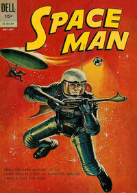 Cover Thumbnail for Space Man (Dell, 1962 series) #2