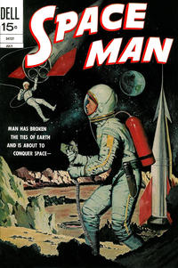 Cover Thumbnail for Space Man (Dell, 1962 series) #9