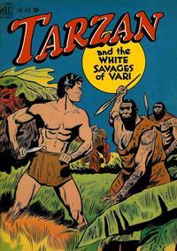 Cover Thumbnail for Edgar Rice Burroughs' Tarzan (Dell, 1948 series) #1