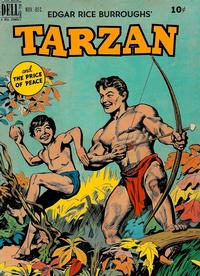 Cover Thumbnail for Edgar Rice Burroughs' Tarzan (Dell, 1948 series) #12
