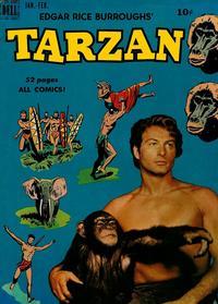 Cover Thumbnail for Edgar Rice Burroughs' Tarzan (Dell, 1948 series) #13