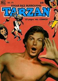 Cover Thumbnail for Edgar Rice Burroughs' Tarzan (Dell, 1948 series) #14