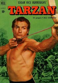 Cover Thumbnail for Edgar Rice Burroughs' Tarzan (Dell, 1948 series) #23