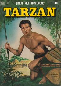 Cover Thumbnail for Edgar Rice Burroughs' Tarzan (Dell, 1948 series) #27