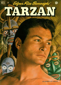 Cover Thumbnail for Edgar Rice Burroughs' Tarzan (Dell, 1948 series) #28